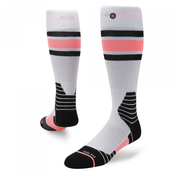 STANCE SOCKS WATERFALL SNOW GREY