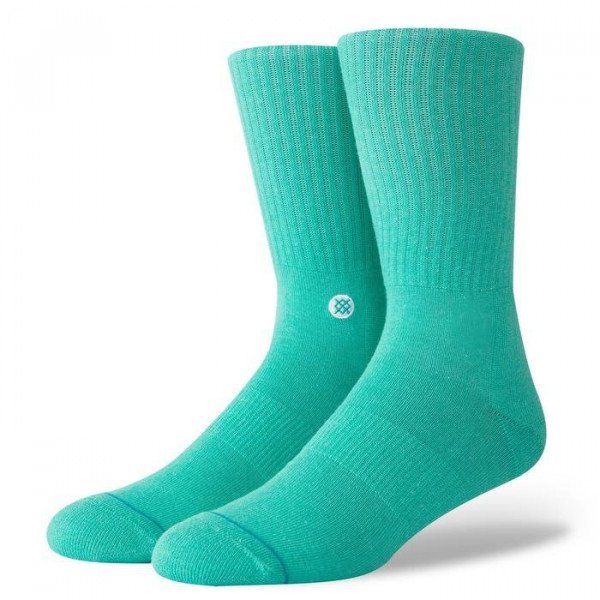 STANCE ZEĶES UNCOMMON SOLIDS ICON TEAL