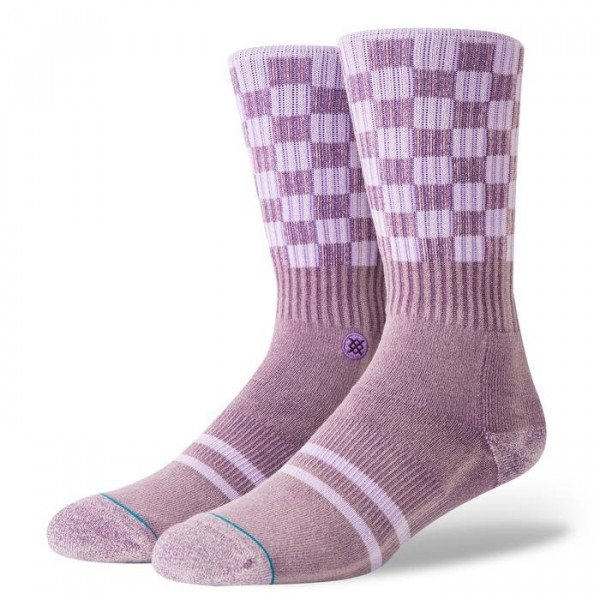 STANCE ZEĶES BLUE FOUNDATION CHECK ME OUT VIOLET