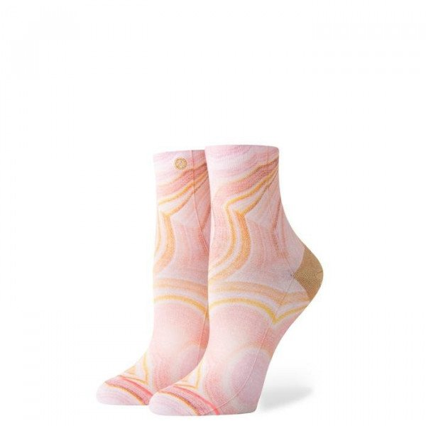 STANCE ZEĶES FOUNDATION WOMEN AGATE PINK