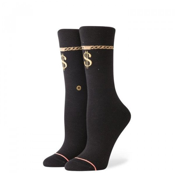 STANCE ZEĶES FOUNDATION WOMEN PAYDAY BLACK