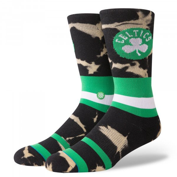 STANCE ZEĶES NBA ARENA CELTICS ACID WASH GREEN