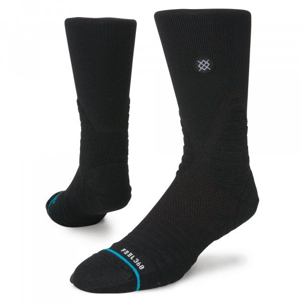 STANCE ZEĶES BASKETBALL HOOPS ICON CREW BLACK