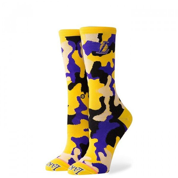 STANCE ZEĶES W NBA ARENA LAKERS CREW YELLOW