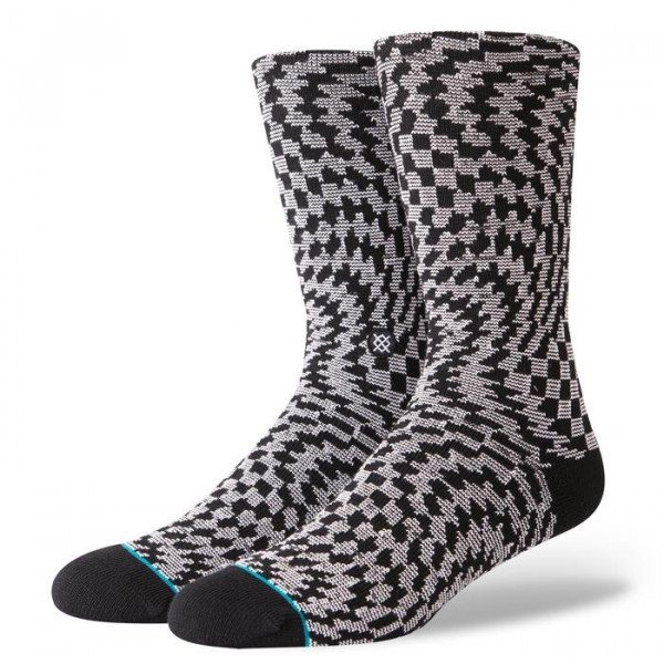 STANCE SOCKS BLUE FOUNDATION HYSTERIA BLACK