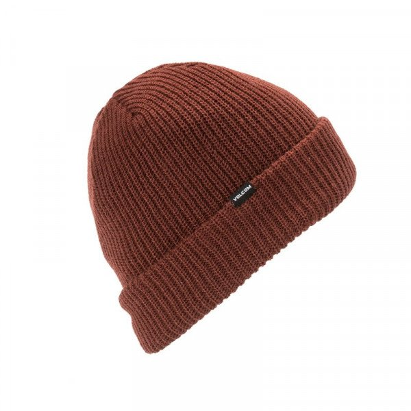 VOLCOM CEPURE SWEEP LINED BEANIE BTR W18