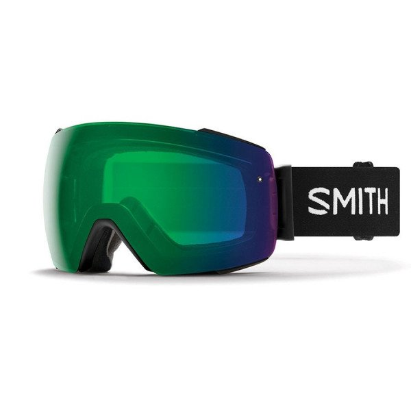 SMITH BRILLES I/O MAG BLACK EVERYDAY GREEN MIRROR W18