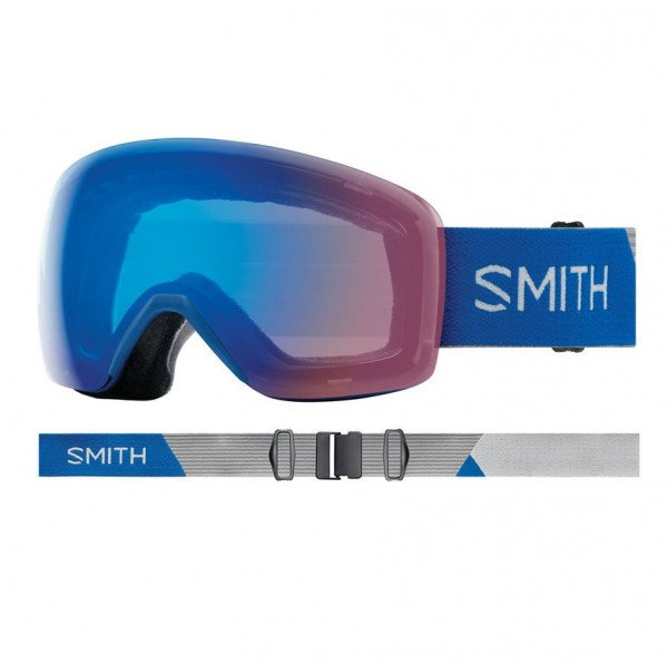 SMITH BRILLES SKYLINE IMPERIAL BLUE STORM ROSE FLASH W18