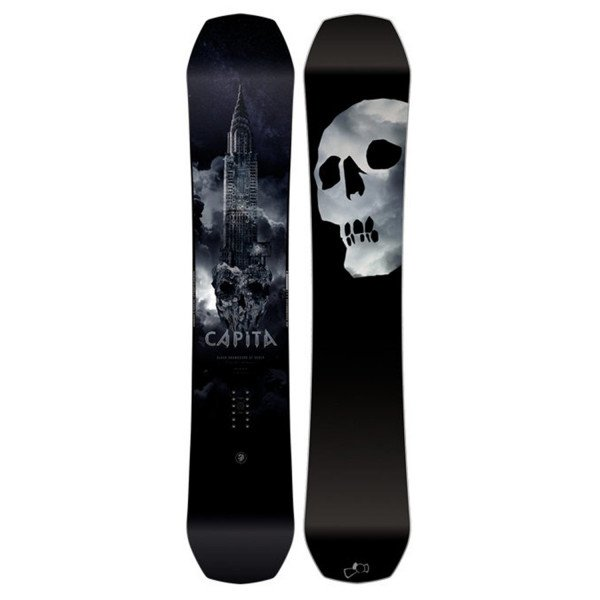 CAPITA SNOW DĒLIS BLACK SNOWBOARD OF DEATH W18