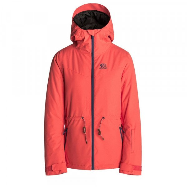 RIP CURL JAKA BETTY PLAIN JACKET HOT CORAL W18