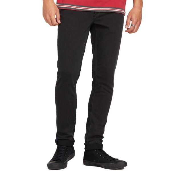 VOLCOM DŽINSI 2X4 TAPERED INK S19