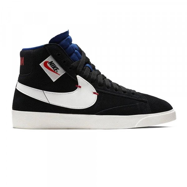 NIKE SHOES BLAZER MID REBEL W BLACK WHITE ROYAL S19