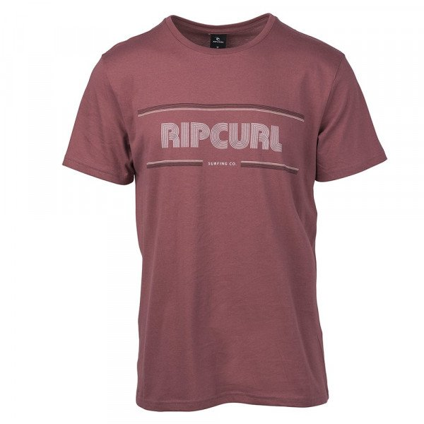 RIP CURL T-SHIRT MAMA STROKES SS LIGHT RED S19