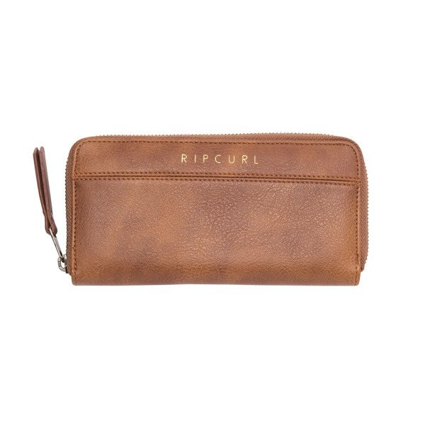 RIP CURL MAKS ESSENTIALS C/B PU WALLET TAN S19