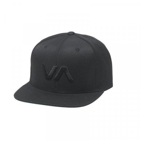 RVCA CEPURE VA SNAPBACK II BLACK BLACK S19