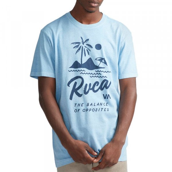 RVCA T-SHIRT MAI THAI ETHER BLUE S19