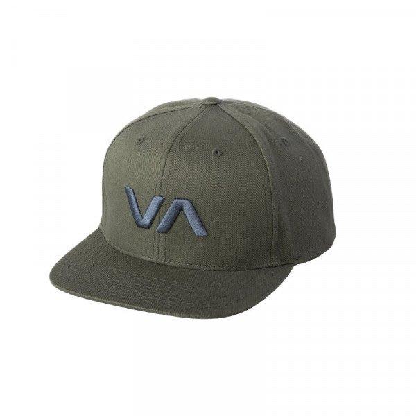 RVCA CEPURE VA SNAPBACK II ARMY GREEN S19