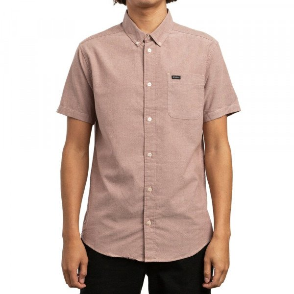 RVCA KREKLS THATLL DO STRETCH SS BORDEAUX S19