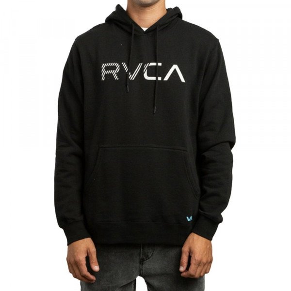RVCA HOOD SCRATCHED RVCA HOOD BLACK S19