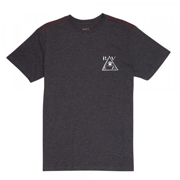 RVCA T-SHIRT ALL SCENE CHARCOAL S19