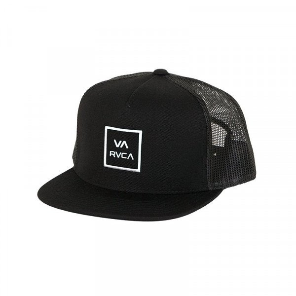 RVCA CEPURE VA ALL THE WAY TRUCKER BLACK S20