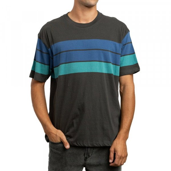 RVCA T-SHIRT PAYNO SS PIRATE BLACK S19