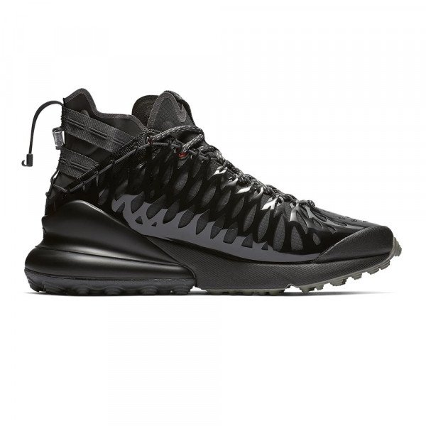 NIKE APAVI AIR MAX 270 ISPA BLACK ANTHRACITE S19