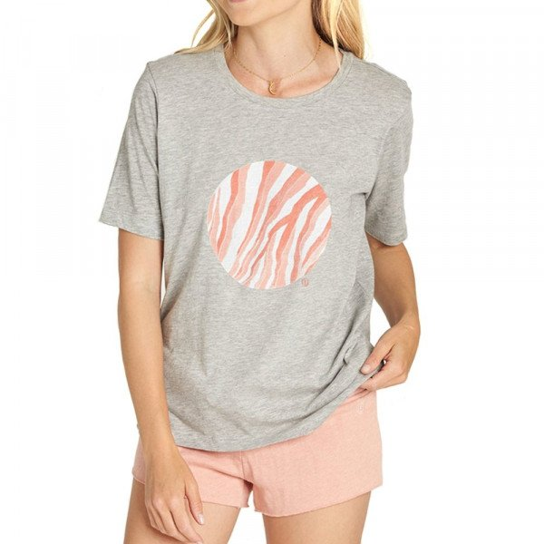ELEMENT T-SHIRT WATER CIRCLE CR HEATHER GREY