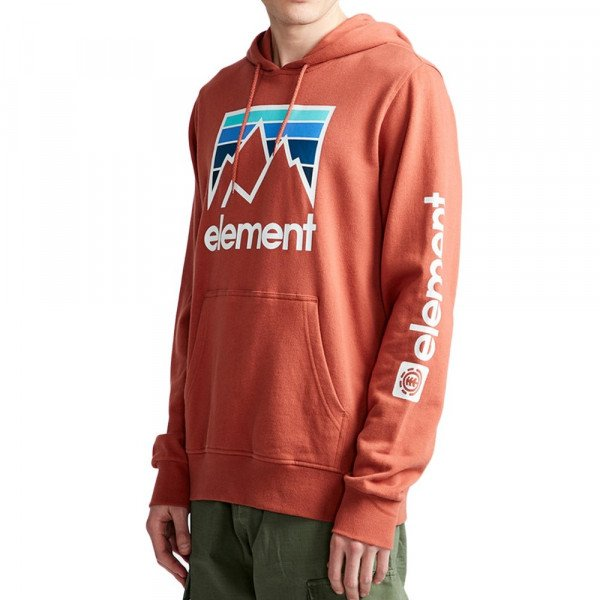 ELEMENT HOOD JOINT HO ETRUSCAN RED S19