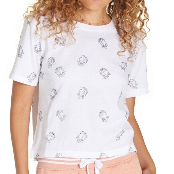 ELEMENT T-SHIRT FALLING FOR YOU WHITE S19