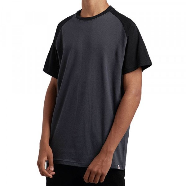 ELEMENT T-SHIRT BASIC RAGLAN SS BLACK S19