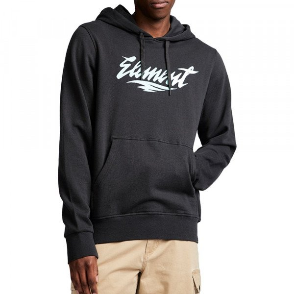 ELEMENT HOOD STROKE HO OFF BLACK S19
