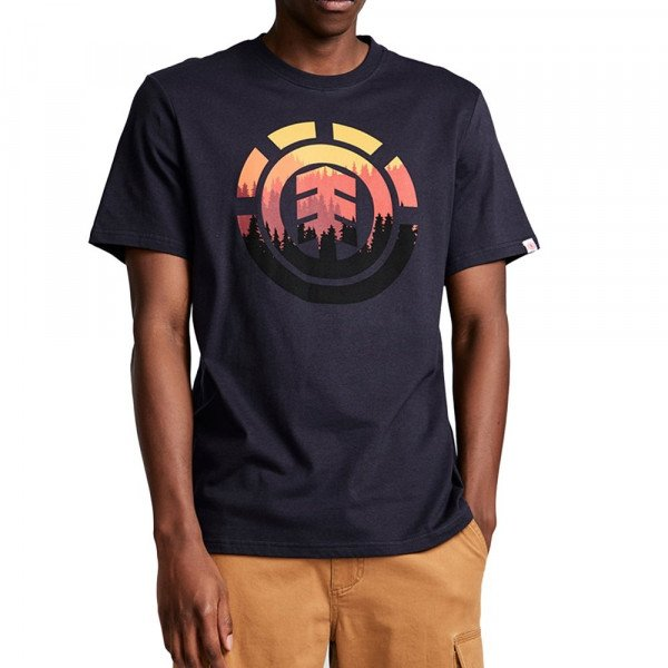 ELEMENT T-SHIRT GLIMPSE ICON SS ECLIPSE NAVY S19
