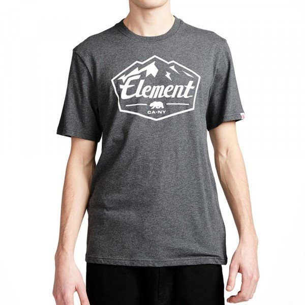 ELEMENT T-SHIRT SLAB SS CHARCOAL HEATHER S19