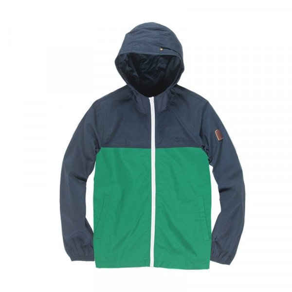 ELEMENT JACKET ALDER LIGHT 2TONES KIDS DYNASTY GREEN S19