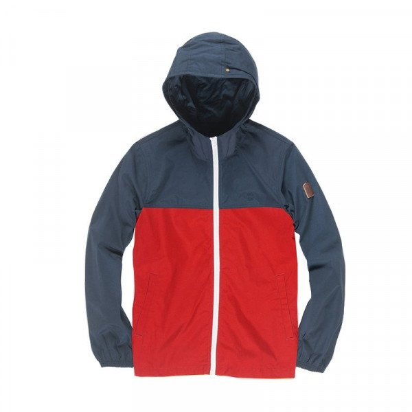 ELEMENT JACKET ALDER LIGHT 2TONES KIDS POMPEIAN RED S19