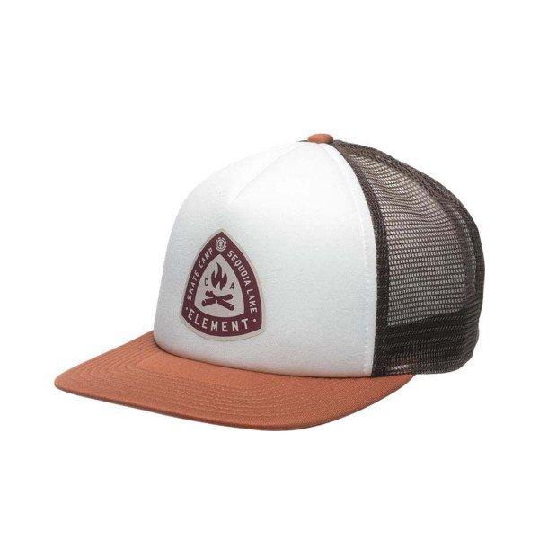 ELEMENT CEPURE CAMP TRUCKER CAP GINGER BREAD