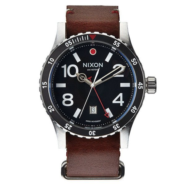 NIXON PULKSTENIS DIPLOMAT BLACK BROWN