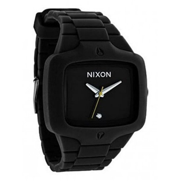 NIXON PULKSTENIS RUBBER PLAYER BLACK