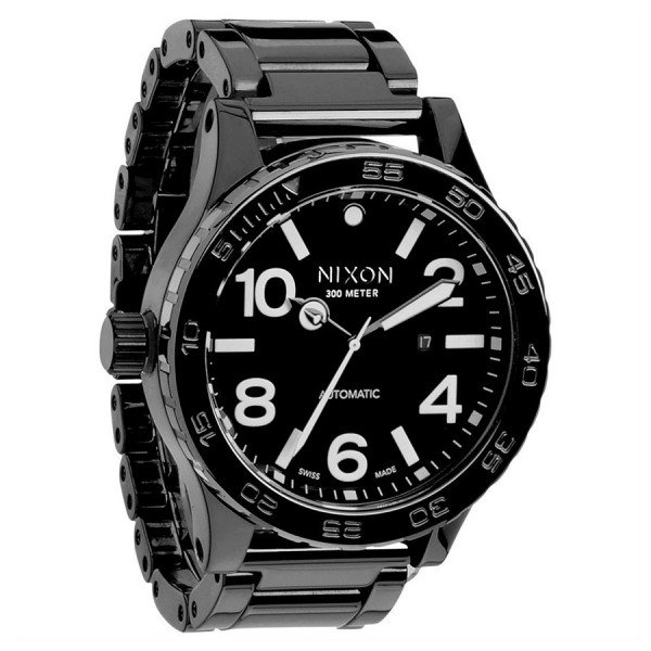 NIXON PULKSTENIS CERAMIC 51-30 ALL BLACK