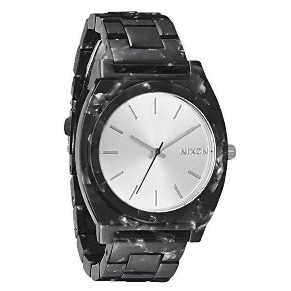 NIXON PULKSTENIS TIME TELLER ACETATE GRAY GRANITE