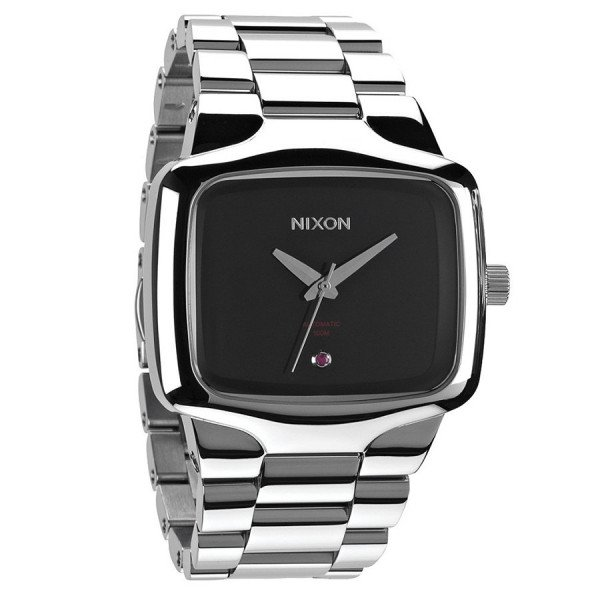 NIXON PULKSTENIS PLAYER AUTOMATIC XL BLACK SR