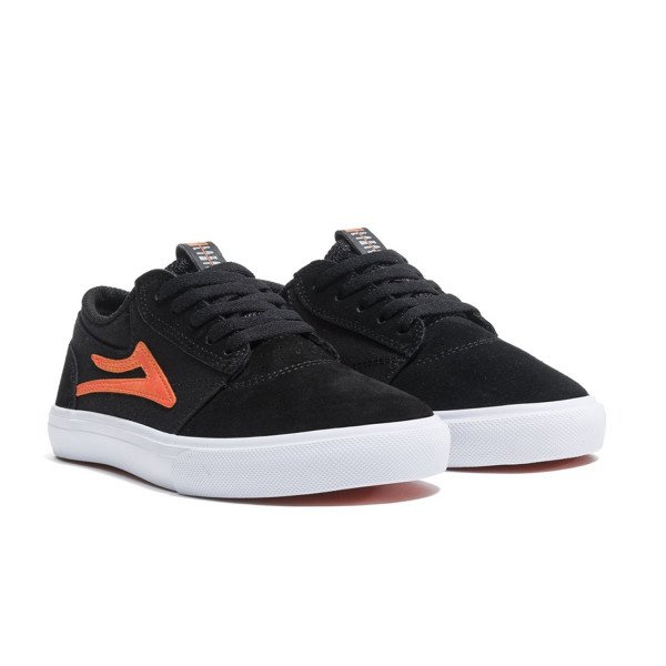 LAKAI APAVI GRIFFIN KIDS BLACK ORANGE S19