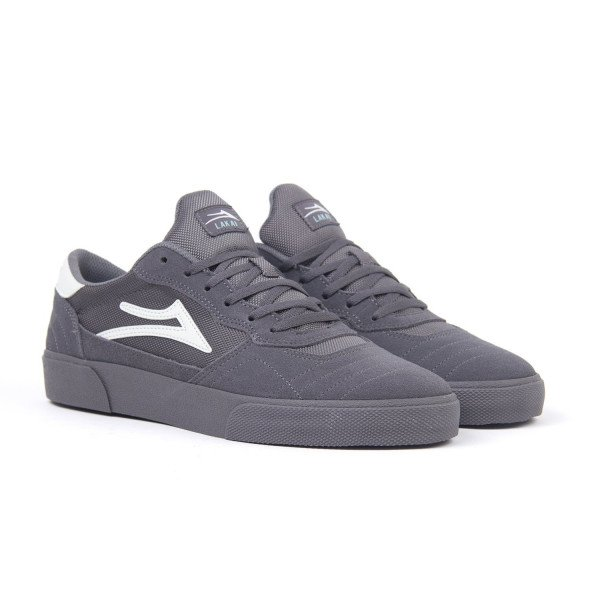 LAKAI APAVI CAMBRIDGE GREY SUEDE S19