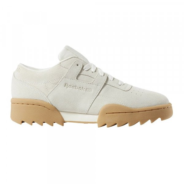 REEBOK SHOES WORKOUT RIPPLE OG CHALK GUM S19