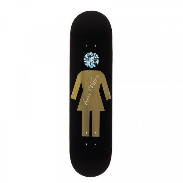 GIRL SKATEBOARD DECK WILSON DIAMOND X GIRL DECK 7.75