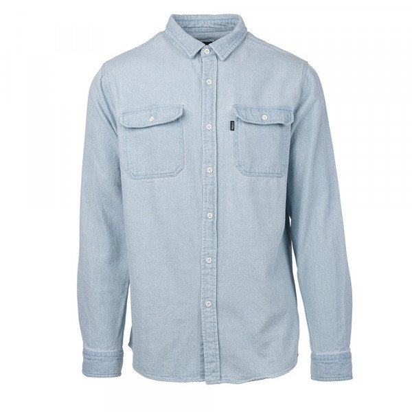 RIP CURL KREKLS SUN OUT OVERSHIRT LIGHT BLUE S19