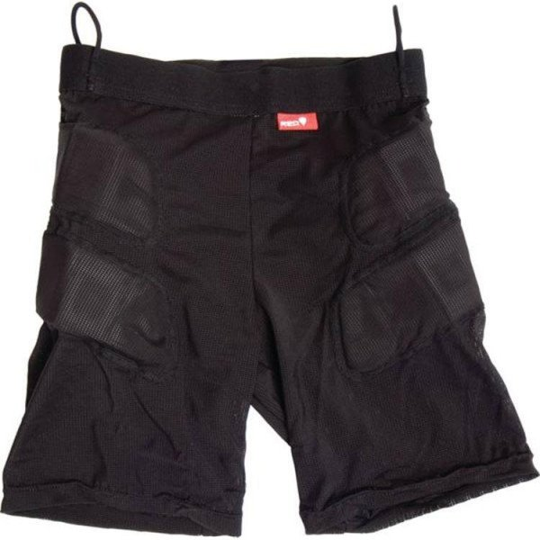 RED AIZSARGI IMPACT SHORT MEN'S BLACK
