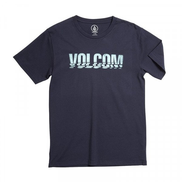 VOLCOM T-SHIRT CHOPPED EDGE BSC SS KIDS NVY S19
