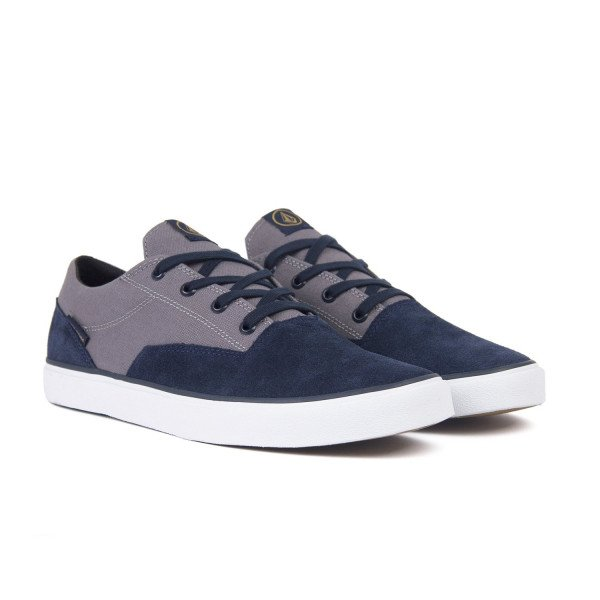 VOLCOM SHOES DRAW LO SUEDE SHOE NVH S19